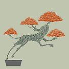Bonsai Lion Escapes by SusanSanford