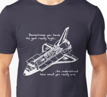 Space Shuttle - Getting High (WHITE) Unisex T-Shirt