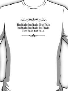 Buffalo Buffalo Sentence T-Shirt