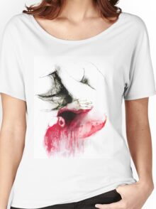Conceptual drawing - the Body - Look Inside Women's Relaxed Fit T-Shirt