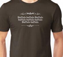 Buffalo Buffalo Sentence Unisex T-Shirt