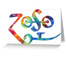 Zoso Greeting Card