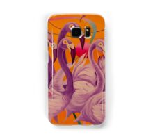 Purple Flamingo Coque et skin Samsung Galaxy