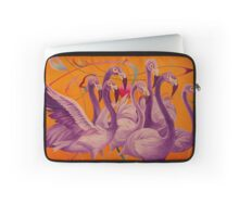 Purple Flamingo Housse de laptop