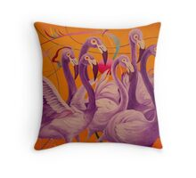 Purple Flamingo Coussin