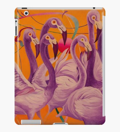 Purple Flamingo iPad Case/Skin