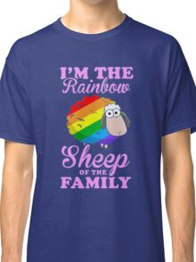 rainbow sheep family Classic T-Shirt