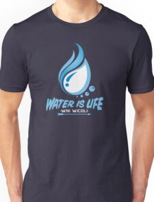 WATER IS LIFE - WNI WICOLI Unisex T-Shirt