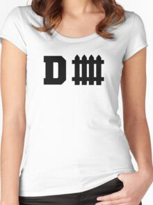 Defense Fence Women's Fitted Scoop T-Shirt