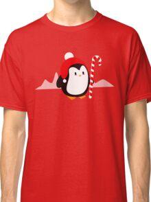 Kawaii Christmas Penguin Classic T-Shirt