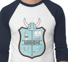 NaNoWriMo Men's Baseball ¾ T-Shirt