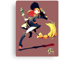 Little Witch Canvas Print