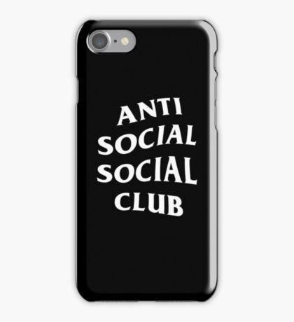 ASSC Club - Black/White iPhone Case/Skin