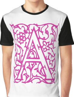 Just the letter A Graphic T-Shirt