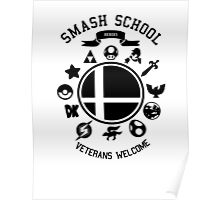 Smash School Veteran Class (Black) Poster