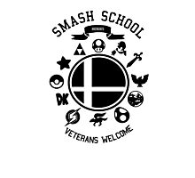 Smash School Veteran Class (Black) Photographic Print