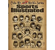 Cubs World's Series 2016 Photographic Print