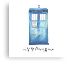 All of Time & Space Canvas Print