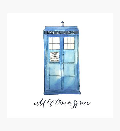 All of Time & Space Photographic Print