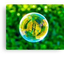 The Bubble Canvas Print
