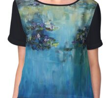 Lily Pond - morning Chiffon Top
