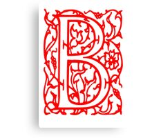 Just the letter B Canvas Print