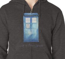 All of Time & Space Zipped Hoodie