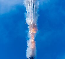 A Jet with Flare by AlexFHiemstra