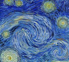Starry Night - the Yin Yang of Van Gogh by COSMICAGENCY