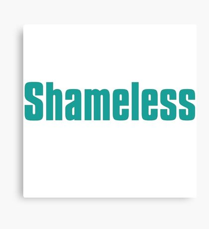 shameless tv show Canvas Print