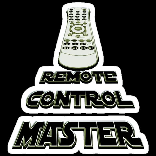 remote control master - sticker by vampvamp