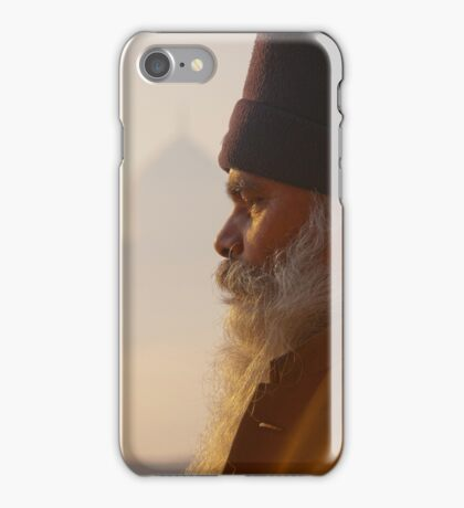Meditation At The Taj iPhone Case/Skin