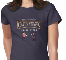 Captain Swan: The Video Game Womens Fitted T-Shirt