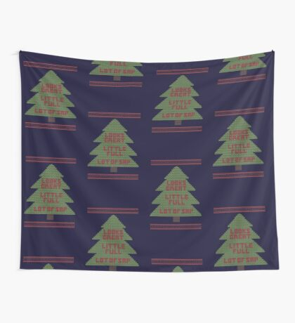 Christmas Vacation Ugly Sweater Wall Tapestry