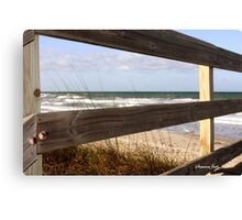 View from the Top of the Dune Canvas Print