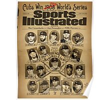 Cubs World's Series 2016 Poster