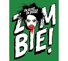 Zombie! Photographic Print