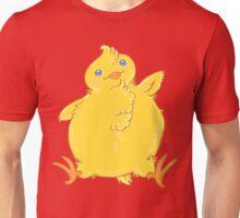 Chubby Chick Chicken Waves Hello Unisex T-Shirt