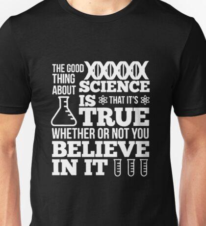 Science Is Not A Liberal Conspiracy T-Shirt T-Shirt Unisex T-Shirt