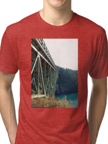 Bridge over Deception Pass Tri-blend T-Shirt