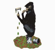 Banksy Chimp Kids Clothes