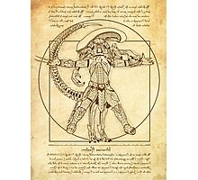 Vitruvian Hunters Photographic Print