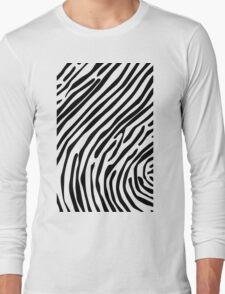Skin of a zebra Long Sleeve T-Shirt