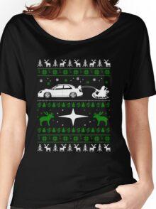 Subaru Ugly Christmas Women's Relaxed Fit T-Shirt
