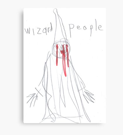 wizard people Canvas Print