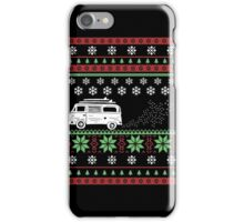 Vintage Bus Ugly Christmas iPhone Case/Skin