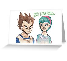 VB: terms of endearment Greeting Card