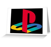 Playstation One Greeting Card