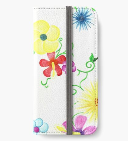 Spring Flowers iPhone Wallet/Case/Skin