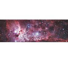 Pink Purple Galaxy Photographic Print